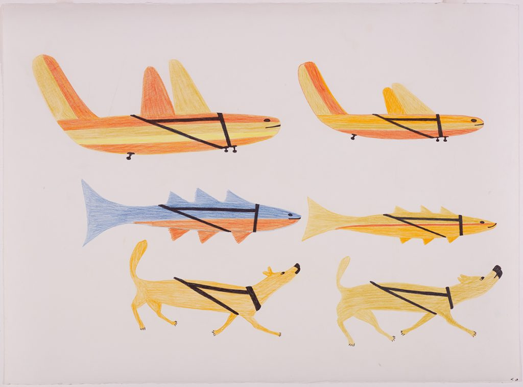 Untitled (Airplanes, Fish and Dogs)